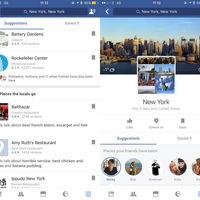 Facebook lanzará una nueva función para ofrecerte sugerencias de eventos y lugares para visitar