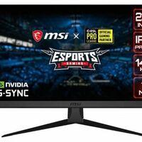 MSI Optix G242: resolución 1080p y 144 Hz en pantalla para un monitor pensado para los eSports