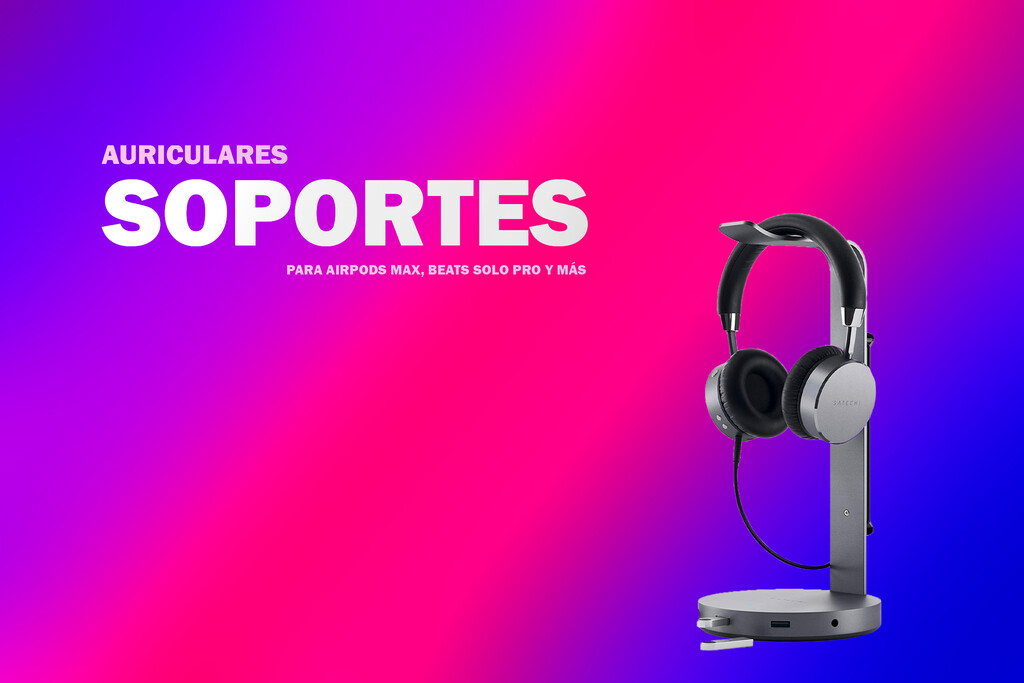 Soportes para auriculares: 9 propuestas con estilo para tus Beats Studio3, Beats Solo Pro y AirPods Max