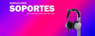 Soportes para auriculares: nueve propuestas con estilo para tus Beats Studio3, Beats Solo Pro y AirPods Max
