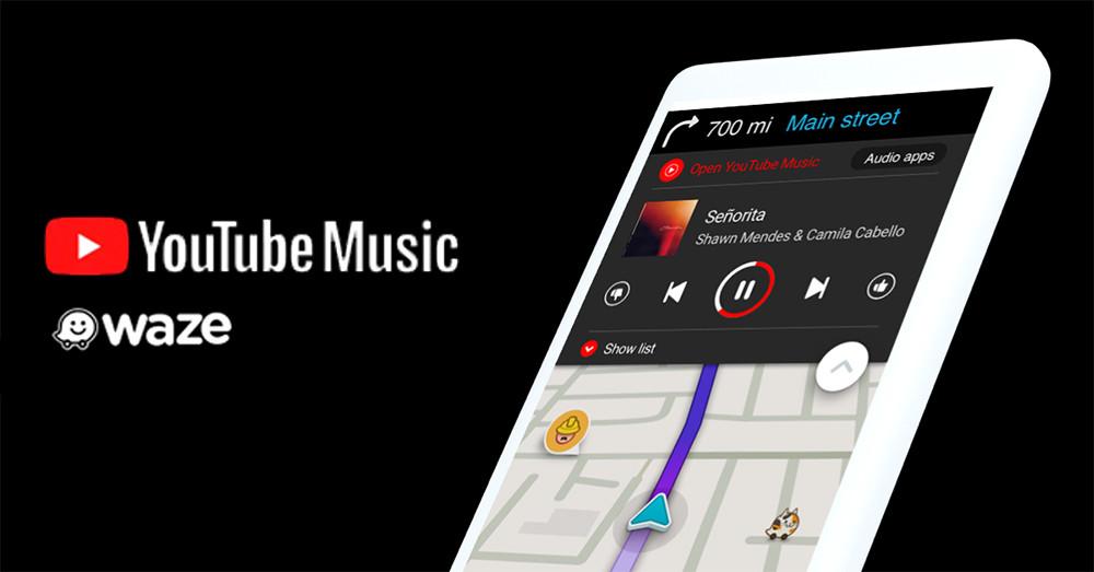 Waze ya permite controlar la reproducción de YouTube Music sin salir de la aplicación