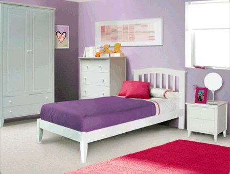 Otro dormitorio infantil de Moblerone más tradicional