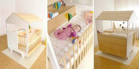 Nina's house, cuna y cambiador todo en uno