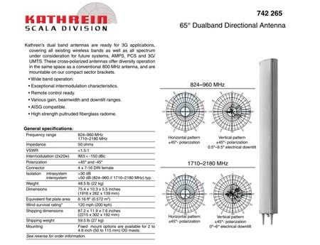 Kathrein Telecomunicaciones 5G