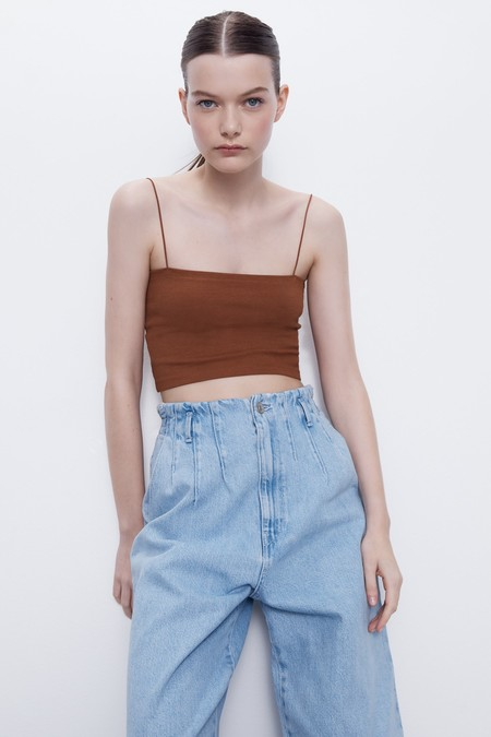 Zara Cropped Top 06