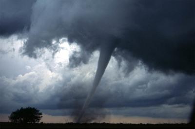 La realidad virtual nos mete de lleno en la recreación del tornado de Oklahoma