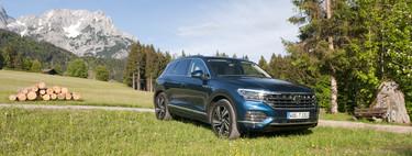 Volkswagen Touareg 2018, a prueba: más SUV, menos todoterreno y hasta arriba de tecnología