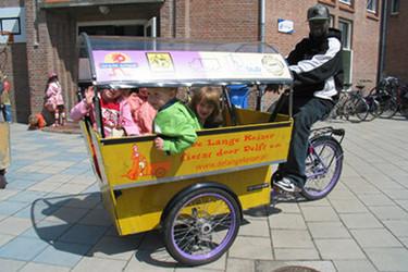 Bici-carritos para transportar varios niños
