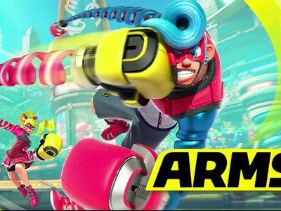 Nintendo Switch presenta una nueva IP llamada Arms