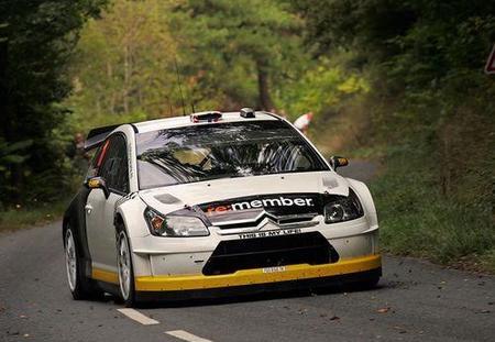 Petter Solberg ya rueda sobre su C4 WRC