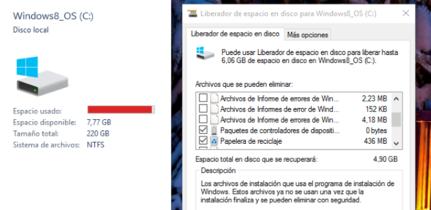 Truco: libera espacio luego de actualizar a Windows 10 borrando los archivos temporales de la instalación