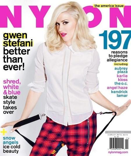 Gwen Stefani, ¿les has contado a los de Nylon el secreto de la juventud eterna?