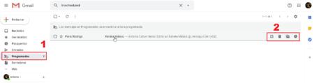 Cancelar Posponer Envio Correo Electronico Programado Gmail