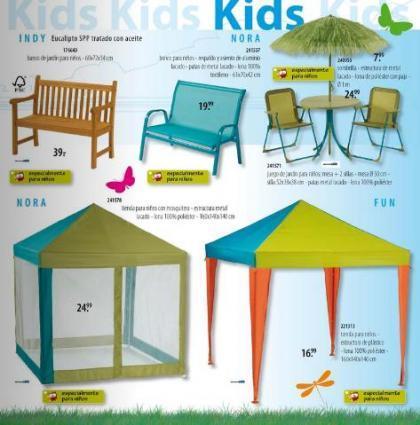 muebles jardín niños casa