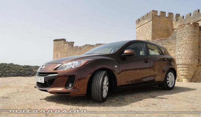 Mazda3 1.6 CRTD 115 cv, neumáticos