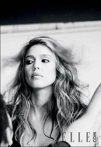 Jessica Alba para Elle