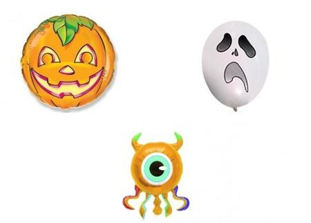 Diseña tus globos terroríficos para Halloween