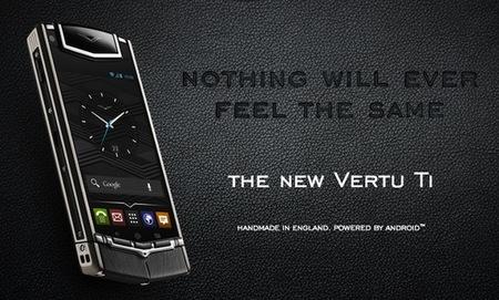 Bang & Olufsen y Vertu se alían para crear el nuevo Vertu Ti