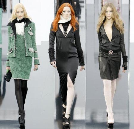Chanel Otoño-Invierno 2009/10 en la Semana de la Moda de París