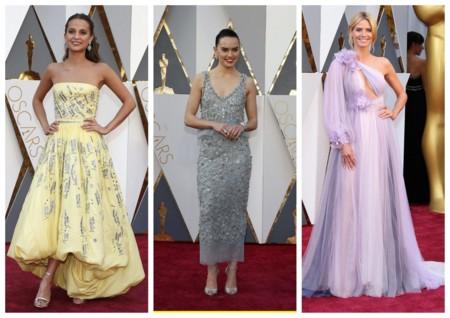 Looks Pastel Oscar 2016