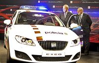 SEAT Exeo, ¿como coche de policía?