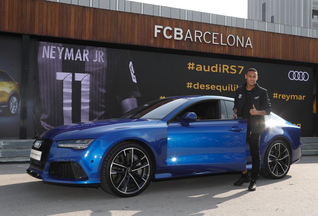 Neymar Audi RS7 Sportback