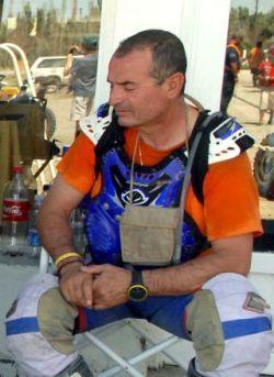 Cristobal Guerrero en coma después de una caída en la décima etapa