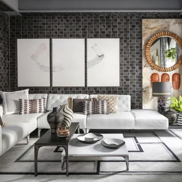 "Natuzzi Italia, de la mano de Raúl Martins, presenta su ""Dandy Lounge"" en Casa Decor 2020"