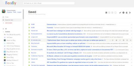 Feedly Reader, transforma Feedly con la apariencia de Google Reader