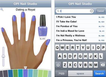 Apps de belleza para iPhone (I): OPI y tus uñas