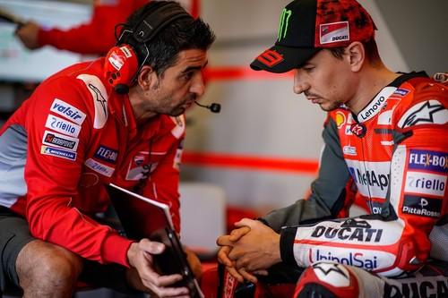 """Jorge Lorenzo: """"Estoy sufriendo con Ducati, lo único que puedo hacer es trabajar"""""""