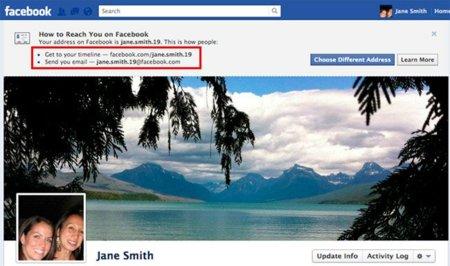 Facebook creará a cada usuario una cuenta de correo @facebook.com