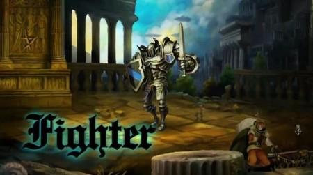 Aquí tenemos al Luchador de 'Dragon's Crown' en acción