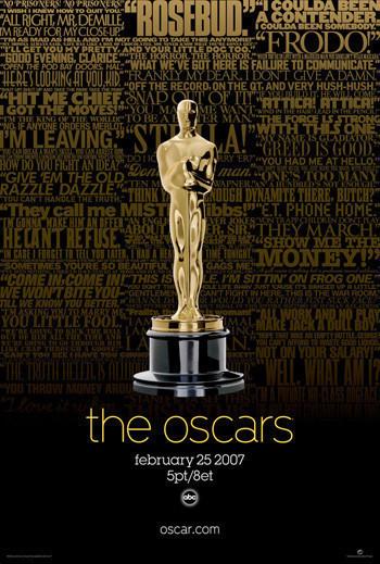 Los Oscars 2007 ya tienen cartel