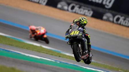 Rossi Marquez Tailandia Motogp 2019
