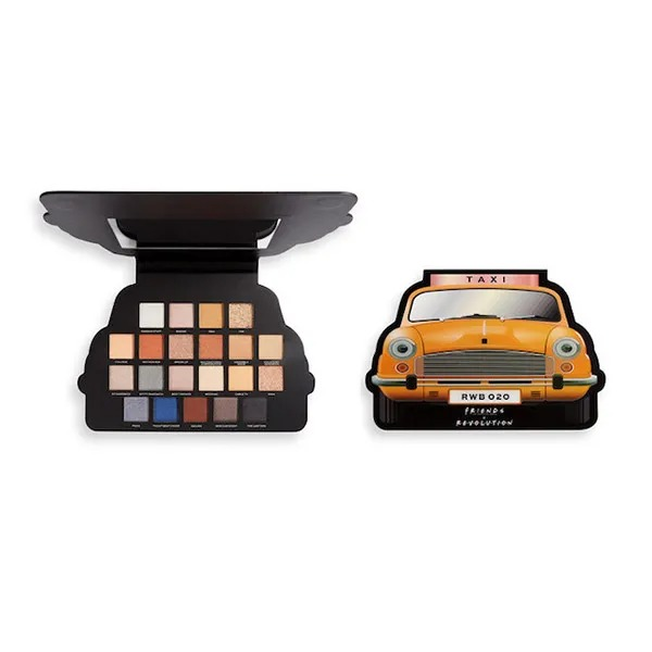 REVOLUTION Friends Limited Edition Take A Drive Shadow Palette