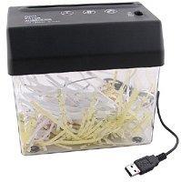Destructor de papeles por USB