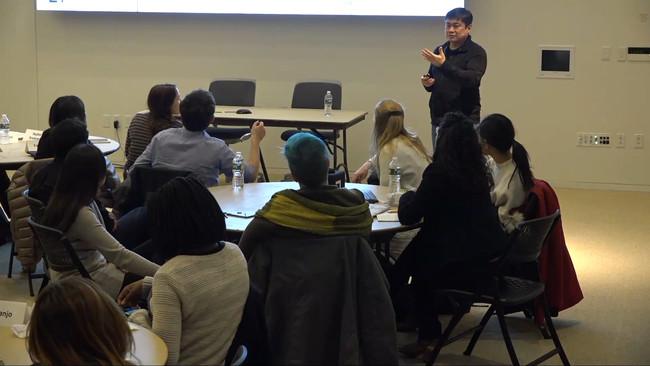 Joi Ito en clase ©MIT Media Lab