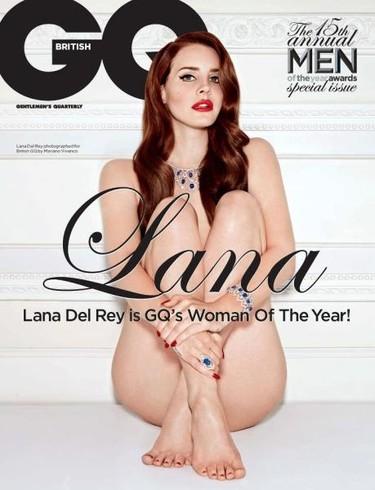 Lana del Rey es la mujer del año, que lo dice GQ