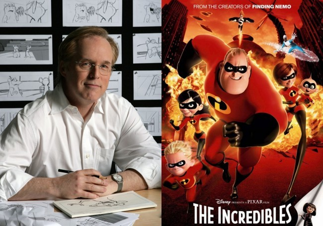 Brad Bird y Los Increibles