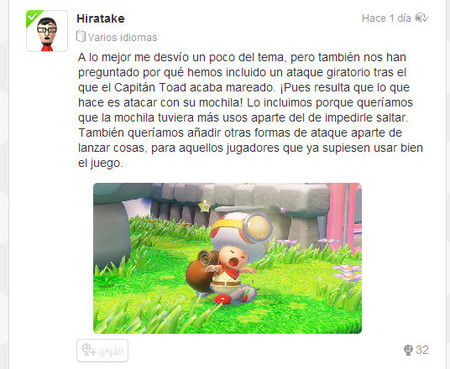 Toad Cuenta Con Un Ataque Giratorio En Captain Toad Treasure Tracker 00