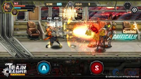 TrainCrasher, un beat 'em up hecho free to play que combina nostalgia con toques roleros