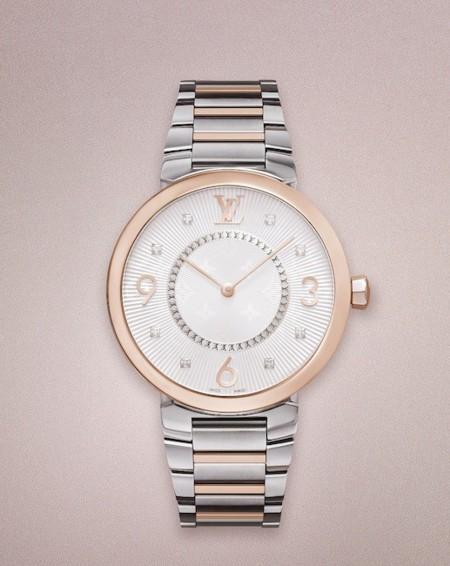 Nueva colección de relojes Tambour Monogram para mujer de Louis Vuitton