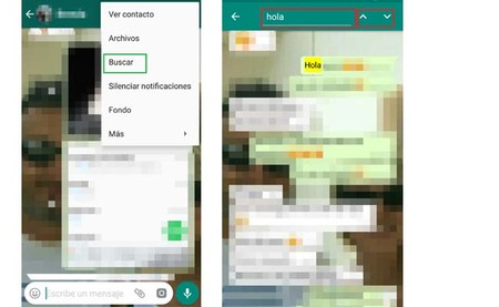 Whatsapp Buscar Mensajes Conversacion Android 1