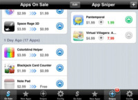 AppSniper, al día de las aplicaciones que bajan de precio