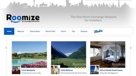 Roomize: red social de hoteleros para intercambiar habitaciones