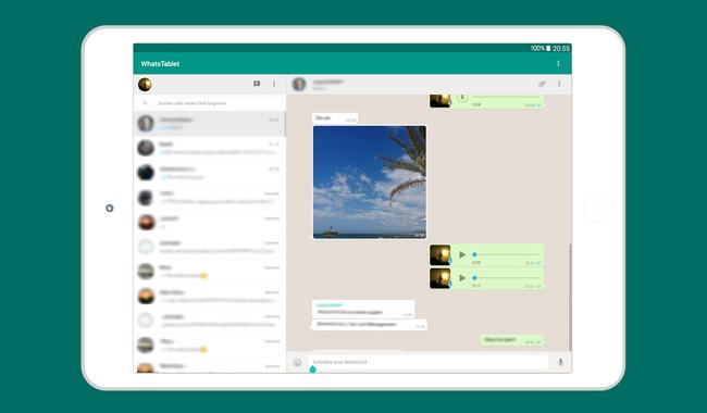Cómo tener WhatsApp en una tableta Android