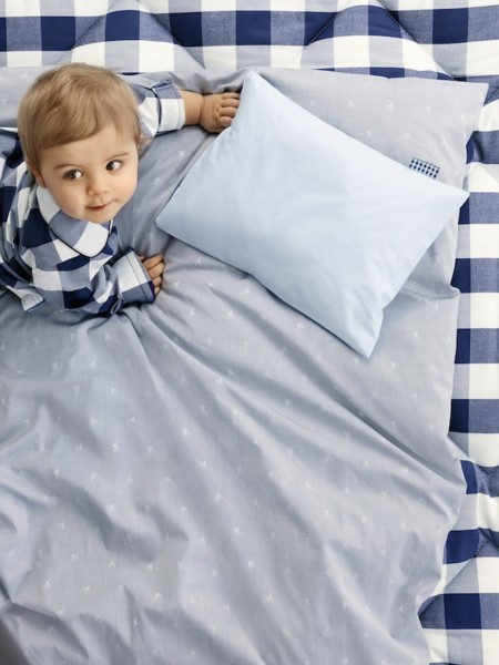 Hästar, la nueva colección de Hästens de ropa de cama para los peques de la casa