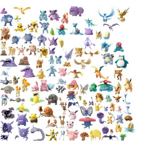 Pokemon Go 150 Pokemon Primera Generacion