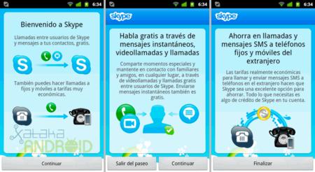 Skype con soporte para videollamadas